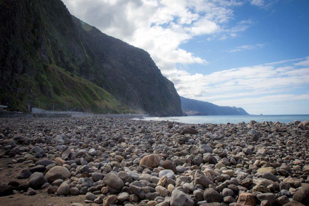 Sao Vicente pebble beach