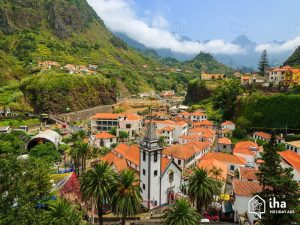 Sao Vicente arial view