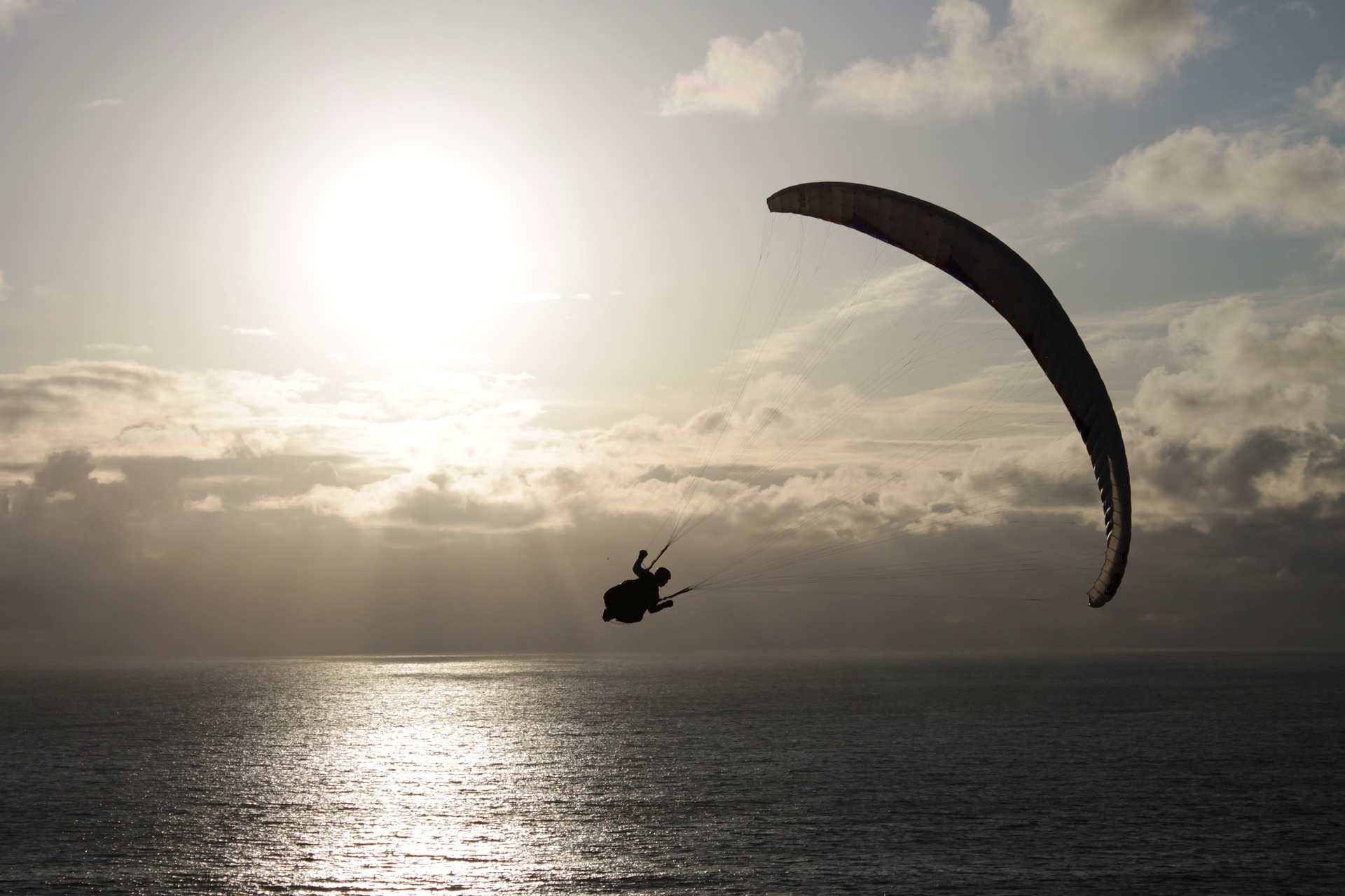 Paragliding on Madeira