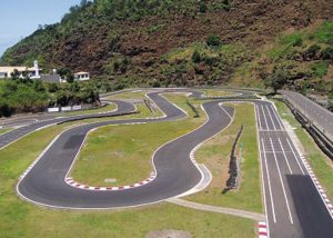 Faial karting track