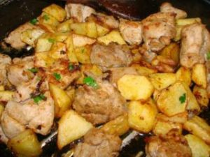Porco Vinho Alhos - Wine Marinated Porc