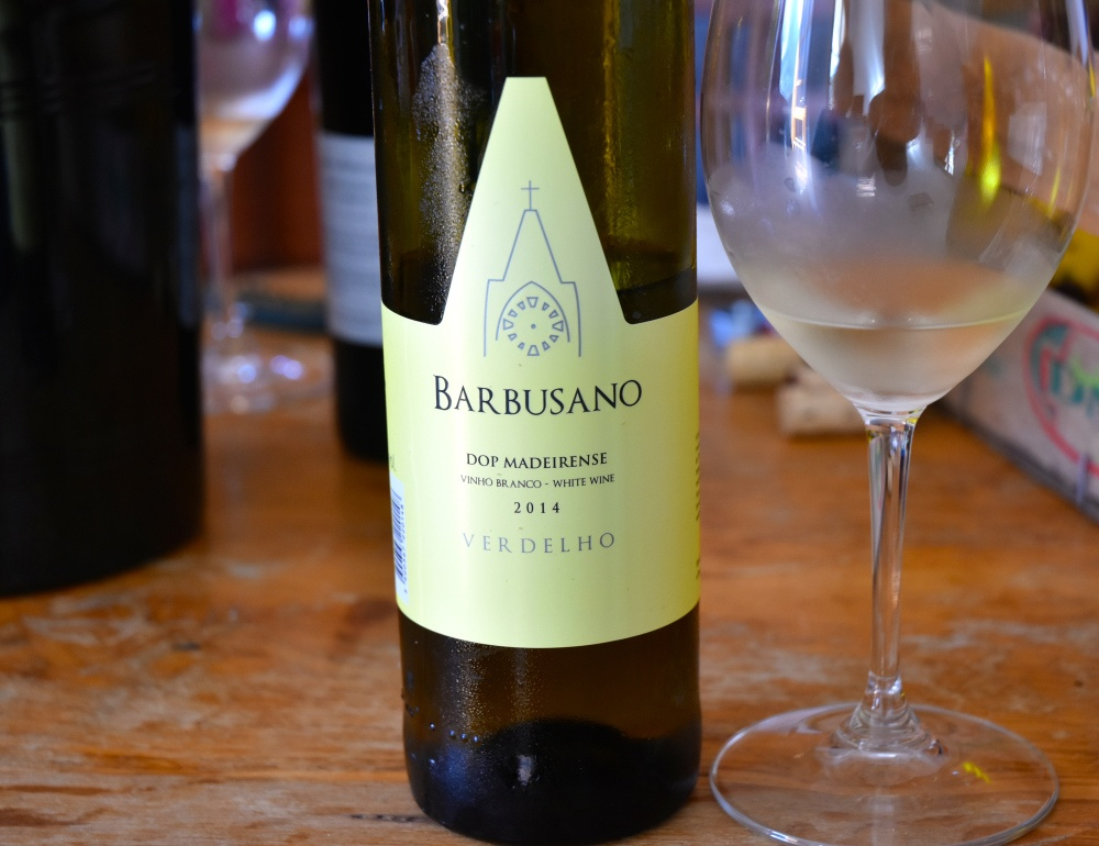 Barbusano Wine from Sao Vicente