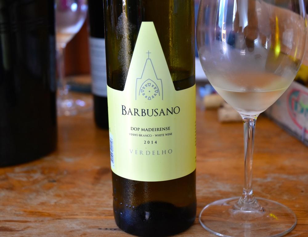 Barbusano Wijn uit Sao Vicente