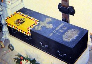 Charles I of Austria - Coffin in Monte