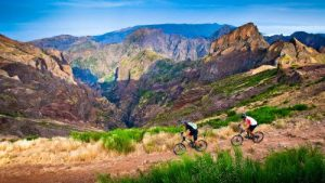 Biking on Madeira