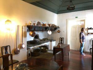 Kitchen at Solar do Aposento