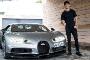 CR7 Bugatti Chiron