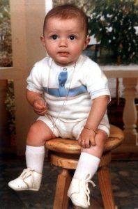 Der junge Cristiano Ronaldo