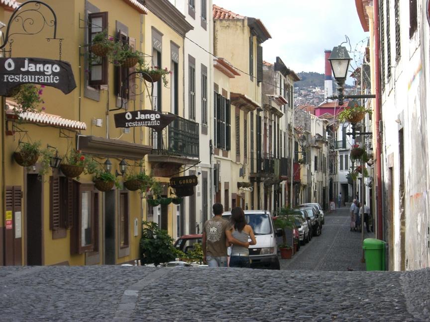 Funchal - Rua de Santa Maria