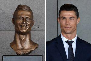 FNC Cristiano Ronaldo Statue