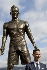 Cristiano Ronaldo's New Statue in Funchal, Madeira