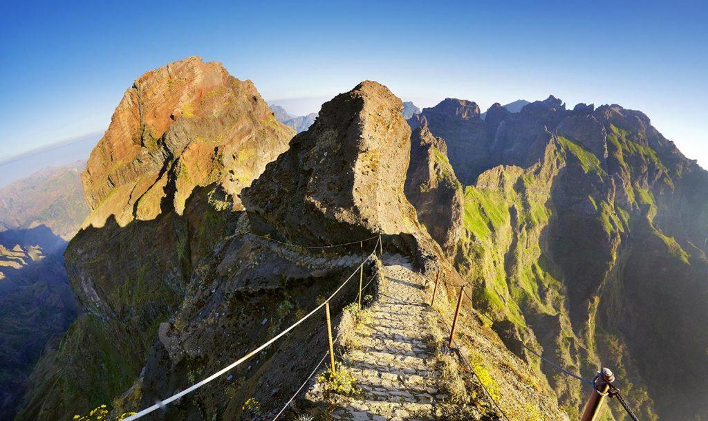 Madeira's Pico Ruivo by Jan Wlodarczyk