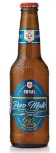Coral Beer 600 years Madeira