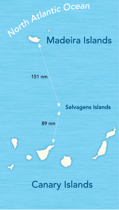 Ilhas Selvagens – Selvagens Islands oder Savage Islands.