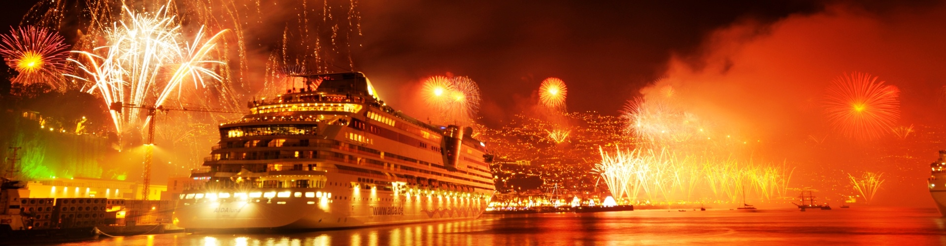 Madeira Island, Portugal New Year's Fireworks Funchal