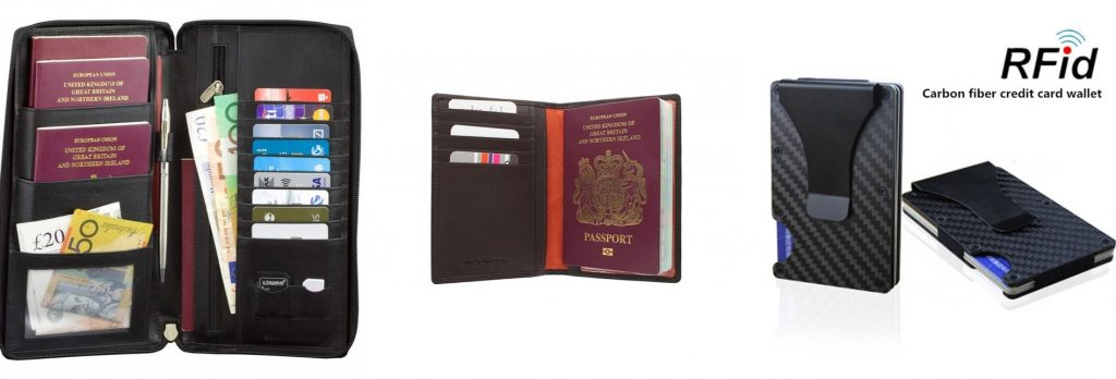 RFID Travel Wallet Madeira - travel to Madeira