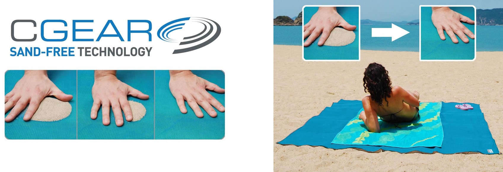 Sandless Beach Mat CGear - Madeira, Portugal - travel to Madeira