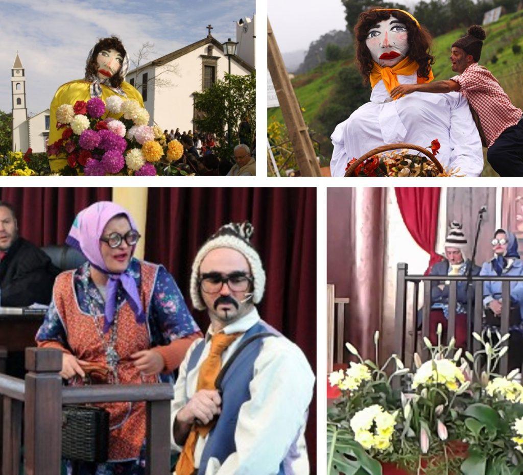 Festa dos Compadres Santana Carnival Madeira Portugal
