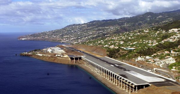 Madeira's long runway makes for a safe island airport.