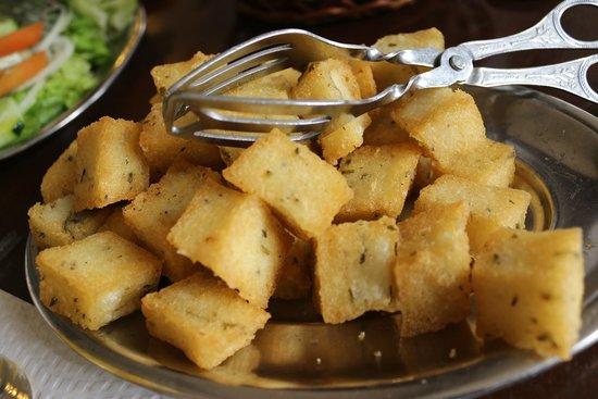 Milho Frito Madeira Fried Cornmeal Madeira Portugal