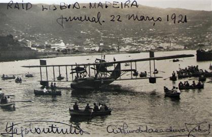 first flight to Madeira Island