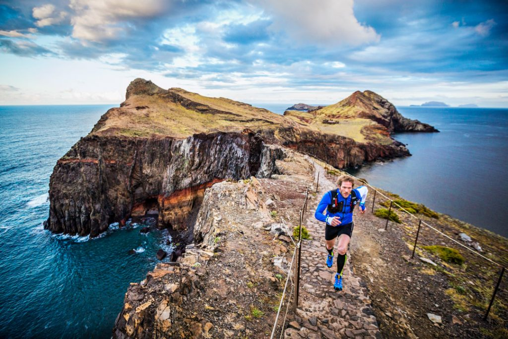 Trail running Madeira Island