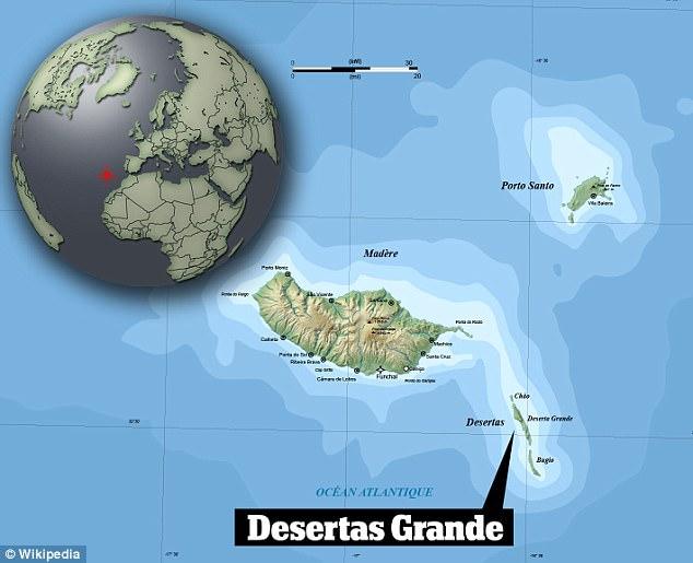 Où sont les îles Desertas Madère