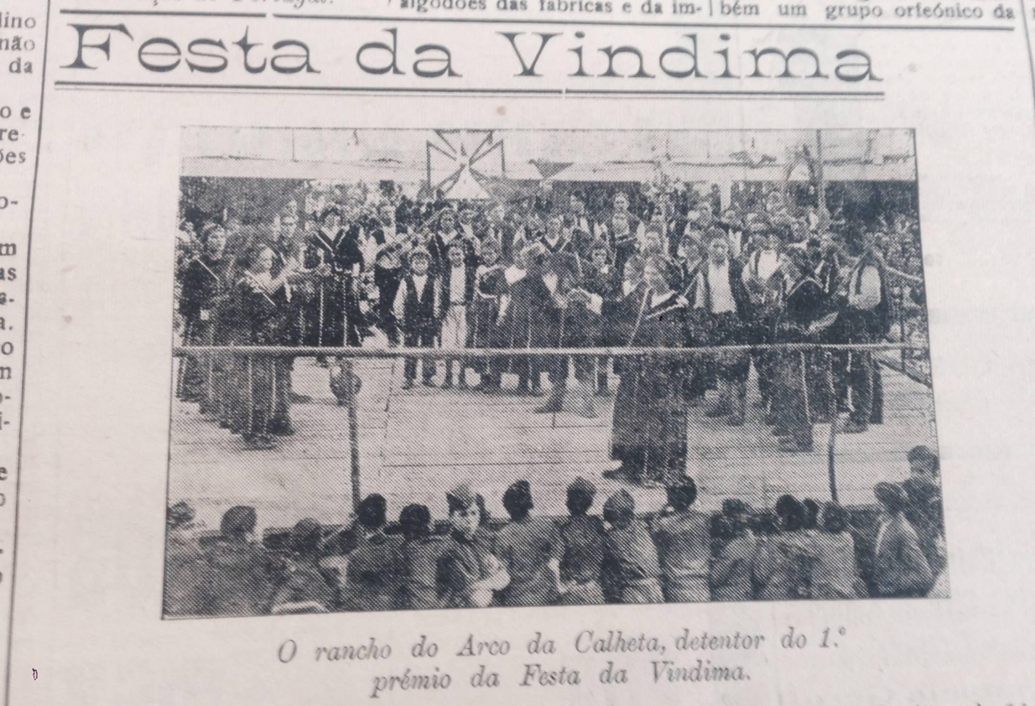 Bailinho da Madeira history Festa da Cindima