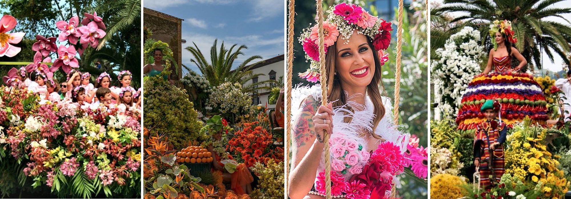 Madeira Flower Festival Festa do Flor Funchal Portugal