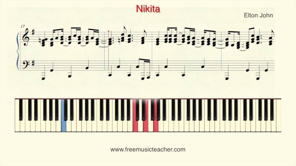 Madeira Music notes Nikita