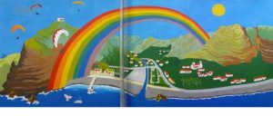 Mural Madalena do Mar Madeira