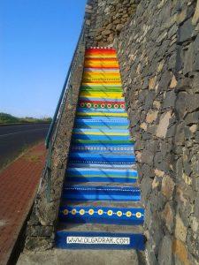 Painted Stairs Campanario Madeira