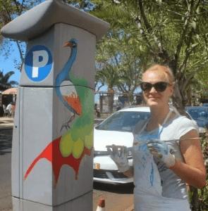 Parking Meter Funchal Madeira Olga Drak Portugal
