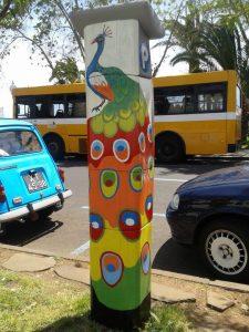 Parking Meter Funchal Madeira by Olga Drak