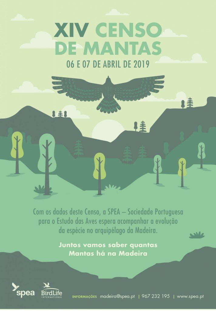 Poster Census Madeira mantas
