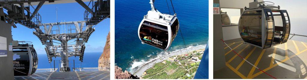 Cable Car Faja Dos Padres Madeira Portugal
