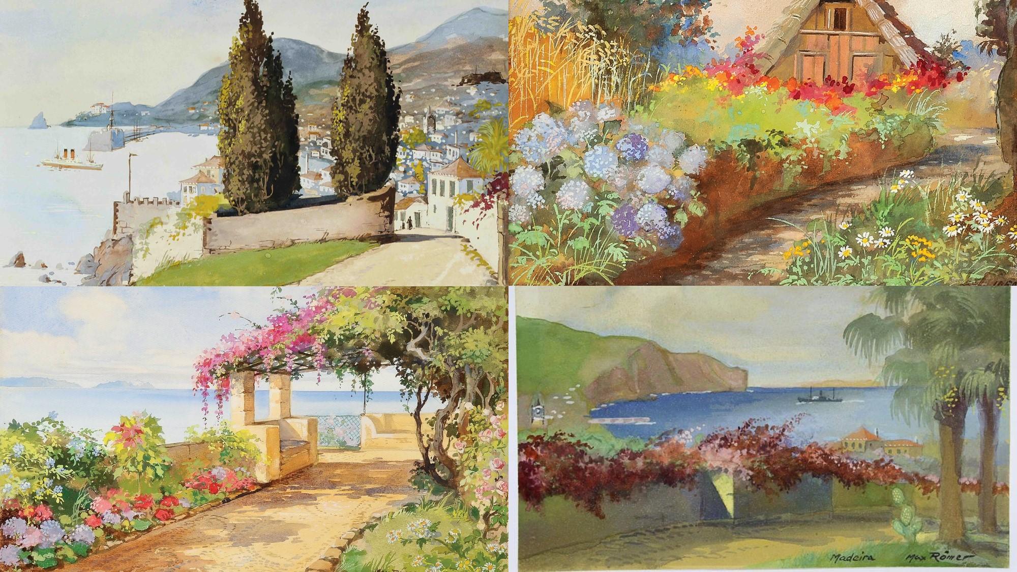 Paysages Max Romer Madeira