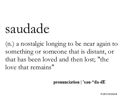 Saudade: nostalgic longing and the spirit of Portugal
