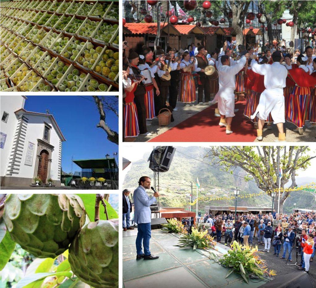 Anona Festival in Faial Santana Madeira