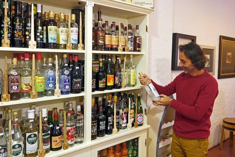 Rum tasting in Funchal, Madeira