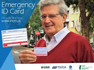 Emergency ID Card Portugal Madeira