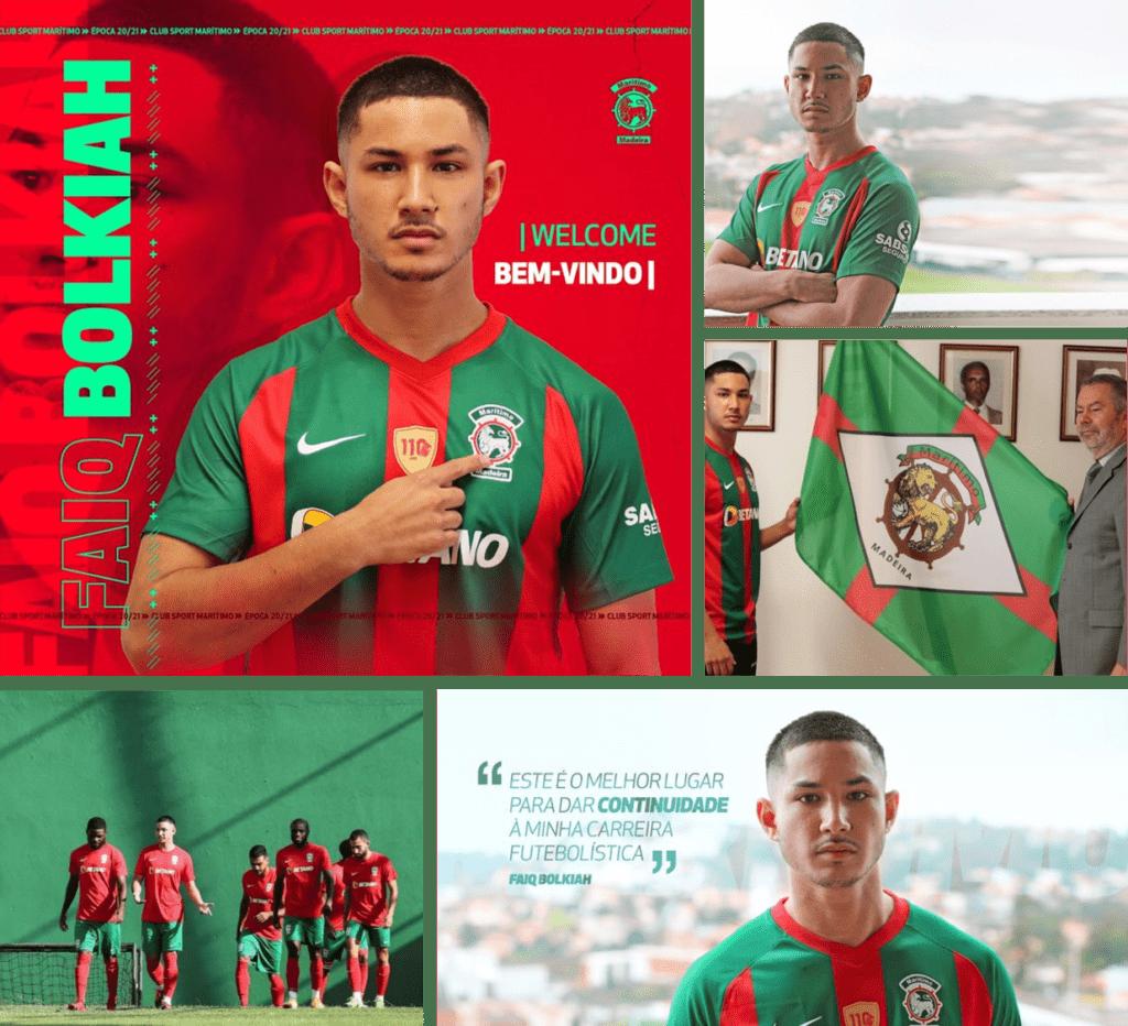 Faiq Molkiah Maritimo Football Madeira