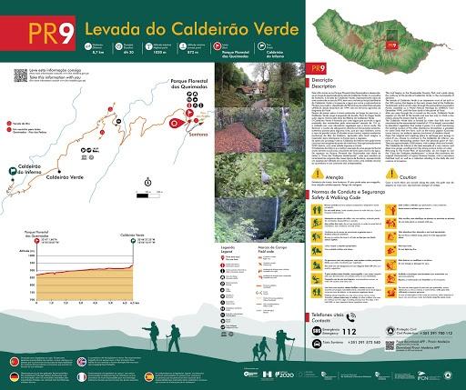 PR9 Levada do Caldeirao Verde Madeira portugal