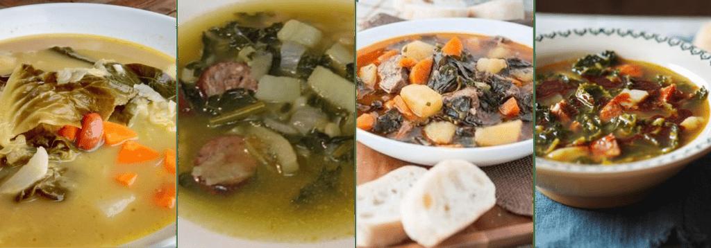 Cabbage Soup Madeira Sopa de Couve Madeira