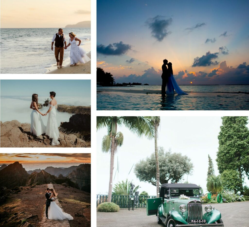 Madeira Island Porto Santo Island Portugal Destination Wedding
