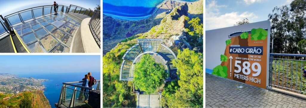Cabo Girao Viewpoitn Madeira Portugal