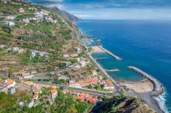 calheta beach and municipality Madeira